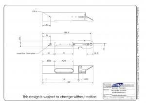 Model SM Technical Drawing